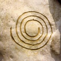 spirale zyklus des lebens